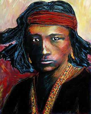Painting - Navajo by Frank Botello