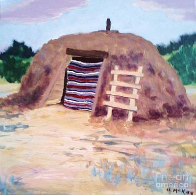 Painting - Navajo Hogan by Suzanne McKay