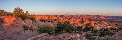 Photograph - Navajo Land Morning Splendor by Lon Dittrick