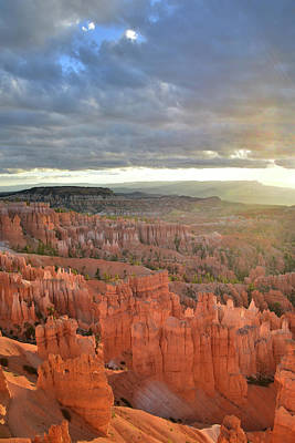 Photograph - Navajo Loop Sunrise by Ray Mathis