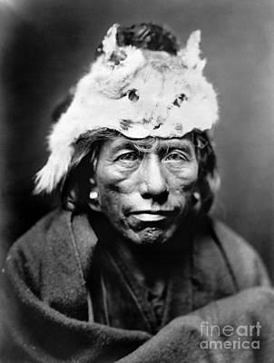 Painting - Navajo Man, C1905 by Granger