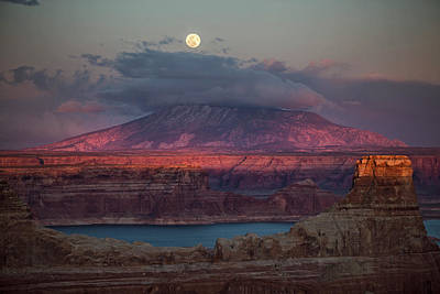 Photograph - Navajo Mountain by Wesley Aston