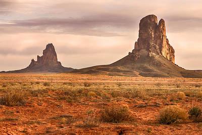 Photograph - Navajo Nation Kayenta Monuments by James BO Insogna
