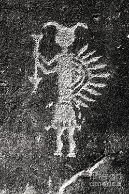 Photograph - Native American Petroglyph by John Stephens