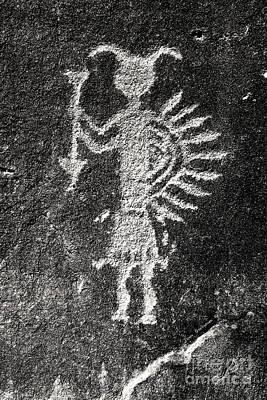 Photograph - Native American Petroglyph by John Stephens