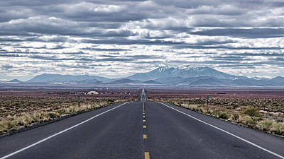 Art Print featuring the photograph Navajo Route 15 by Charles Ables