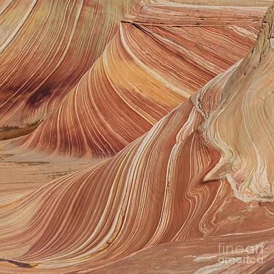 The Plateaus Digital Art - Navajo Sandstone by Jerry Fornarotto