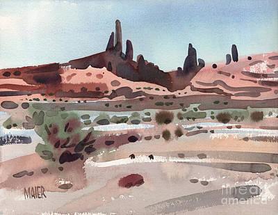 Navajoland Original by Donald Maier