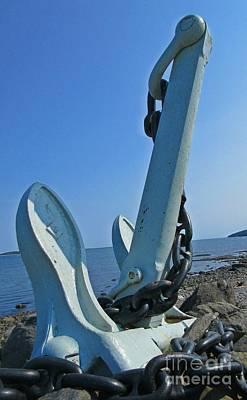 Naval Anchor Original by John Malone