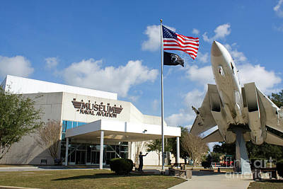 Photograph - Naval Aviation Museum by Steven Frame