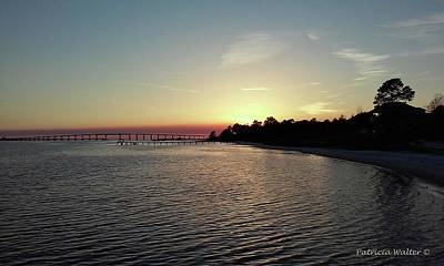 Photograph - Navarre Florida Sunset by Patricia Walter
