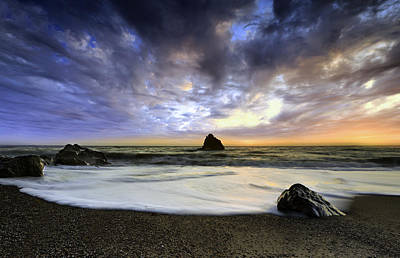 Photograph - Navarro Beach Coast by PhotoWorks By Don Hoekwater