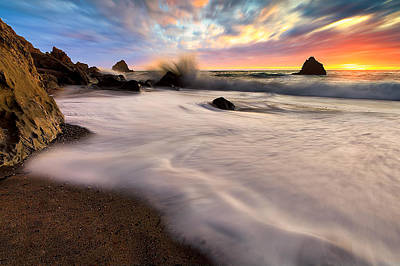 Photograph - Navarro Beach Sunset by PhotoWorks By Don Hoekwater