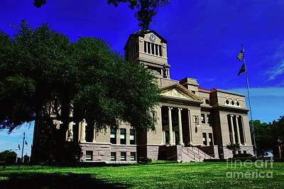 Photograph - Navarro County Seat by Diana Mary Sharpton