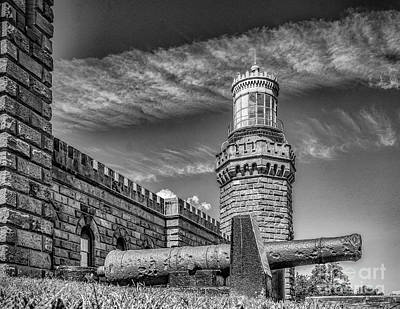 Photograph - Navesink Twin Lights North Tower by Nick Zelinsky