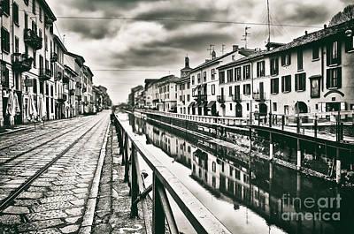 Photograph - Naviglio by Alessandro Giorgi Art Photography