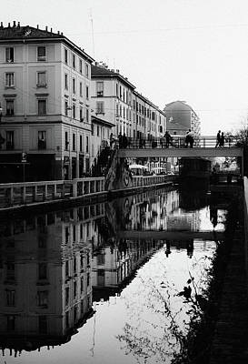Photograph - Naviglio Pavese In Milan, Italy  by Alexandre Rotenberg