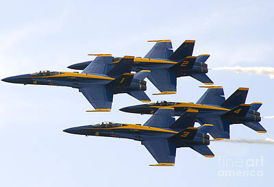 Photograph - Navy Blue Angels  by Ricky L Jones