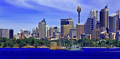 Photograph - Navy Fleet Review In City Of Sydney 2013 by Miroslava Jurcik