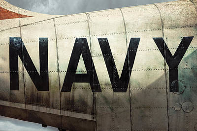 Print featuring the photograph Navy - Kaman K-16b Experimental Aircraft by Gary Heller