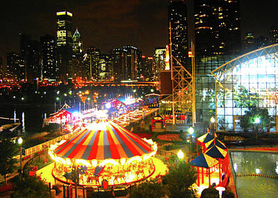 Photograph - Navy Pier by Brian O'Kelly