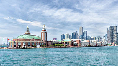 Photograph - Navy Pier - Chicago by Alan Toepfer