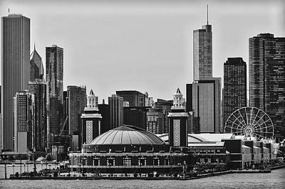 Photograph - Navy Pier - Chicago by Pixabay
