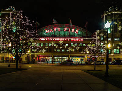 Photograph - Navy Pier by Stewart Helberg