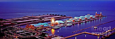 Photograph - Navy Pier by Tom Jelen