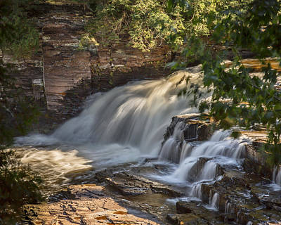 Photograph - Nawadaha Falls by Jack R Perry