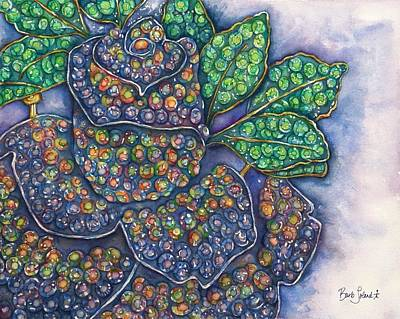 Painting - N'awlins Rose by Barb Toland
