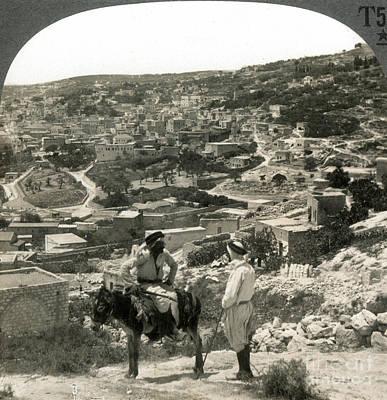 Photograph - Nazareth, Palestine, C1920 by Granger