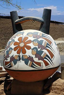 Metal Fabrication Photograph - Nazca Ceramics Peru by Aidan Moran
