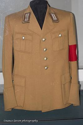 Photograph - Nazi Uniform by Nance Larson