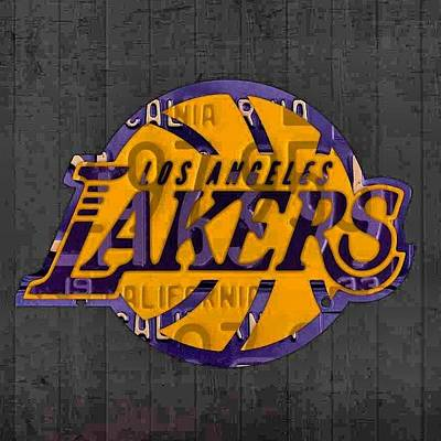 Sports Photograph - Nba Series Coming Along!  #lakers by Design Turnpike