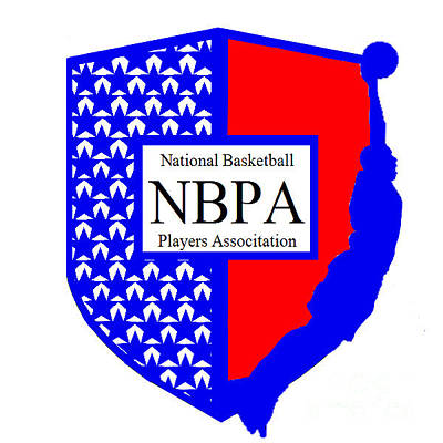 Digital Art - Nbpa Logo Redesign Sample by Tamir Barkan