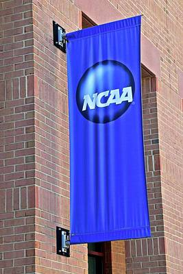 Photograph - Ncaa Banner by Frozen in Time Fine Art Photography