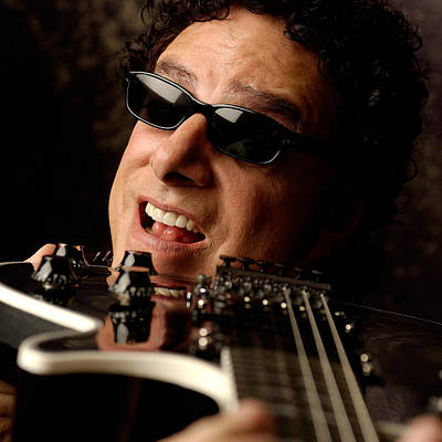 Photograph - Neal Schon By Gene Martin by David Smith