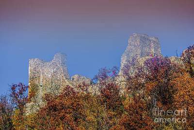 Photograph - Neamt Citadel by Claudia M Photography