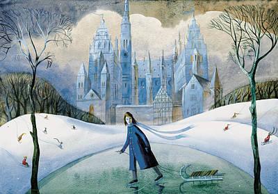 Near A Magical Castle Original
