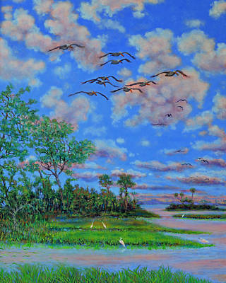 Painting - Near Botany Bay Plantation by Dwain Ray