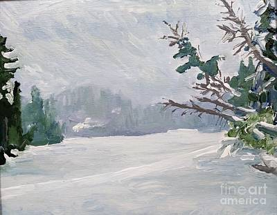 Painting - Near Canada by Rodger Ellingson
