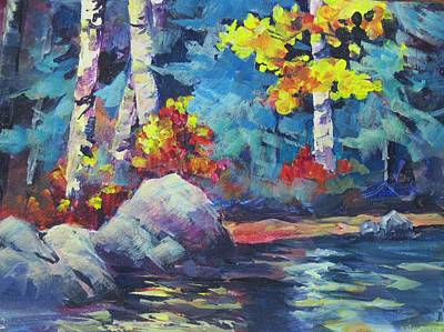Painting - Near Castlegar by Bonny Roberts