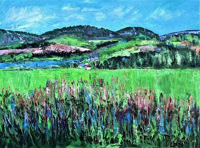 Painting - Near Cooperstown by Betty Pieper