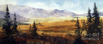 Painting - Near Guadalupita by Tim Oliver