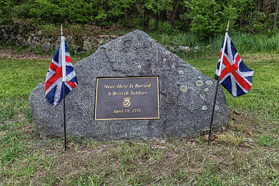 Photograph - Near Here Is Buried A British Soldier by Brian MacLean