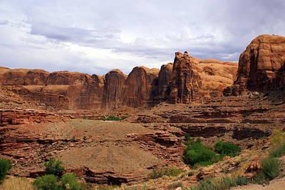 Photograph - Near Moab 4 by Marty Koch