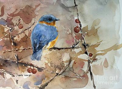 Near Spring Art Print by Monte Toon