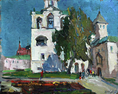 Painting - Near The Bell Tower by Juliya Zhukova