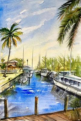 Painting - Near The Canal by Katerina Kovatcheva